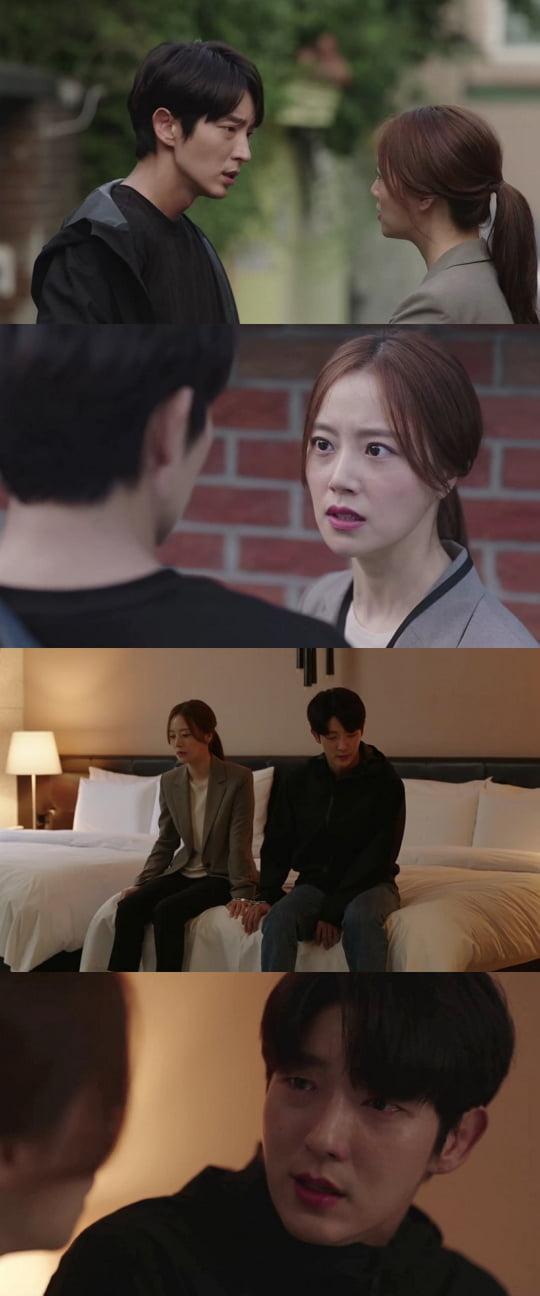 '악의 꽃' 이준기x문채원 (사진=tvN)