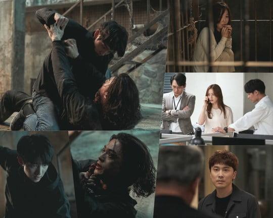 악의 꽃 이준기vs김지훈, 최후의 대결 (사진=tvN)