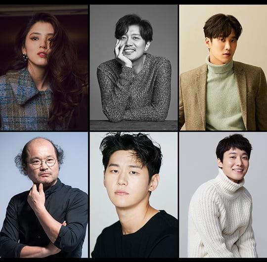 한소희, 박희순, 안보현, 김상호, 이학주, 장률 (사진=각 소속사)