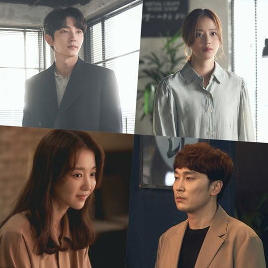 '악의 꽃' 이준기-문채원-장희진-서현우 (사진= tvN 제공)