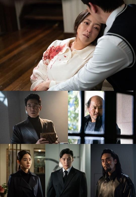 '앨리스', 김희선과 범인후보 (사진= SBS 제공)