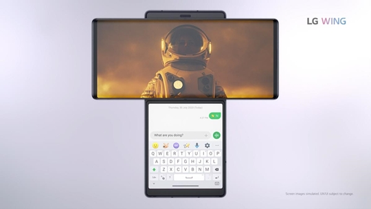 LG전자, '윙' 다음은 '롤러블폰'…폼팩터 혁신 속도
