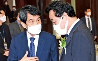 '민주당 20년 집권 건배사' 이동걸, 결국 사과