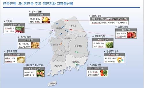 허창수 전경련 회장, 한국전 참전국 대사들에게 특산물 선물