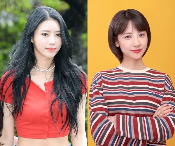 가수 미주(왼쪽), 방송인 김민아/ 사진=텐아시아DB, SM C&C