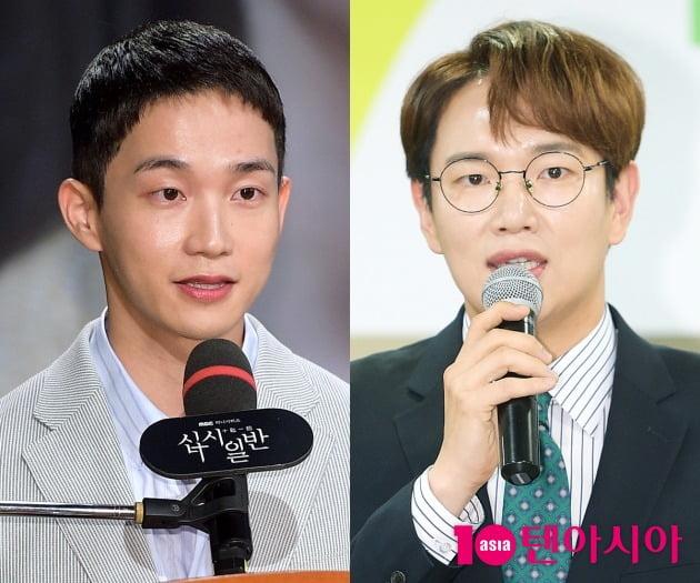 김정현 아나운서가 장성규를 대신해 '굿모닝FM'을 진행했다. / 사진=텐아시아DB