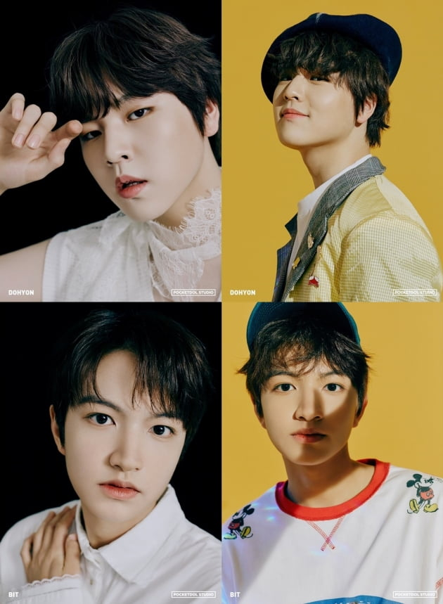 포켓돌스튜디오 새 보이그룹 남도현(위)과 빛. 사진 = 포켓돌스튜디오 제공