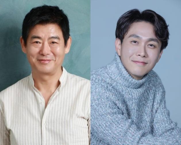 배우 성동일(왼쪽)과 오정세/ 사진제공=에이스메이커무비웍스, 프레인TPC
