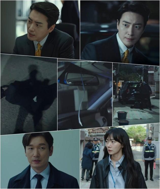 '비밀의 숲2' 이준혁 납치 현장은 의문점이 가득했다. / 사진제공=tvN