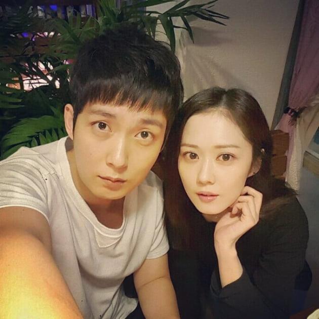 배우 장성원(왼쪽), 장나라/ 사진=장나라 인스타그램