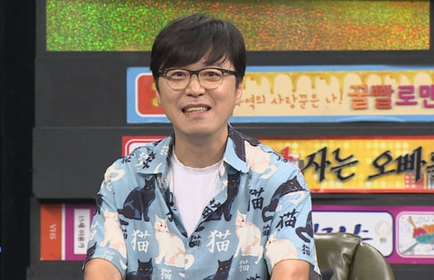 '비디오스타'에 출연한 봉만대 감독/ 사진=MBC 에브리원 제공