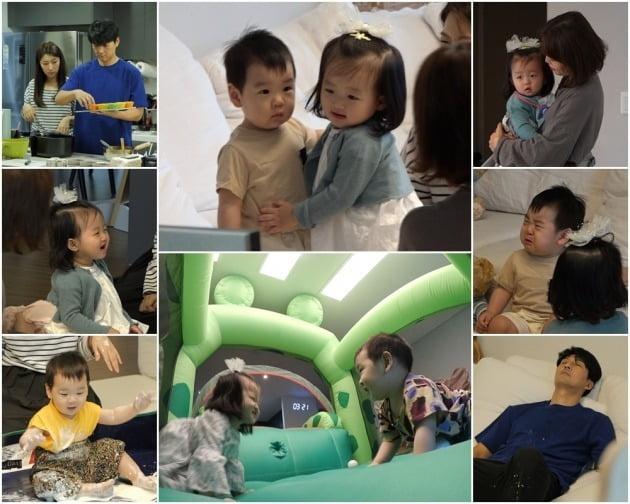 '아내의 맛'  정준호-이하정 가족이 이필모-서수연 집에 방문했다. / 사진제공=TV조선