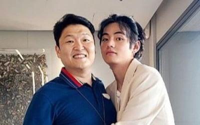 BTS 뷔X싸이 <br>글로벌 콜라보 예고?