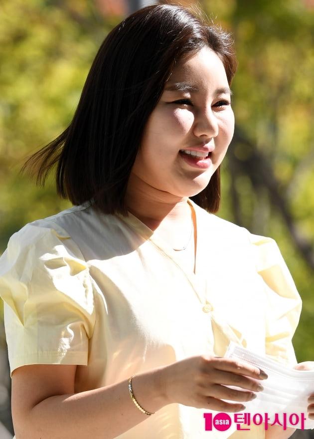 [TEN 포토] 송가인 '아름다운 미소'