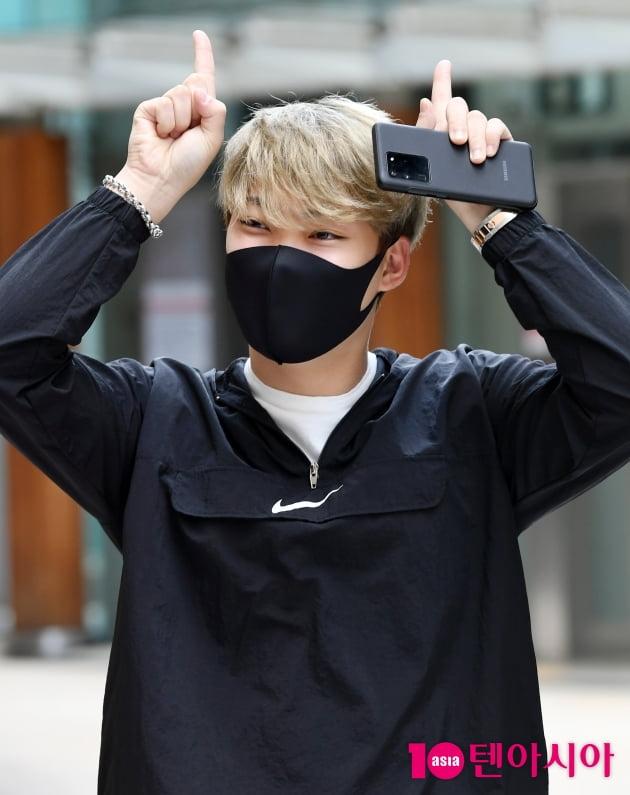 [TEN 포토] 김경민 '업그레이드 된 앳된 황소'