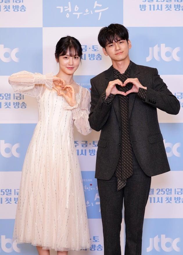 '경우의 수' 배우 신예은, 옹성우./사진제공=JTBC