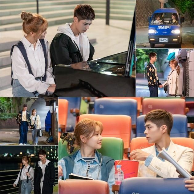 '청춘기록' 촬영장 B컷이 공개됐다. / 사진제공=tvN
