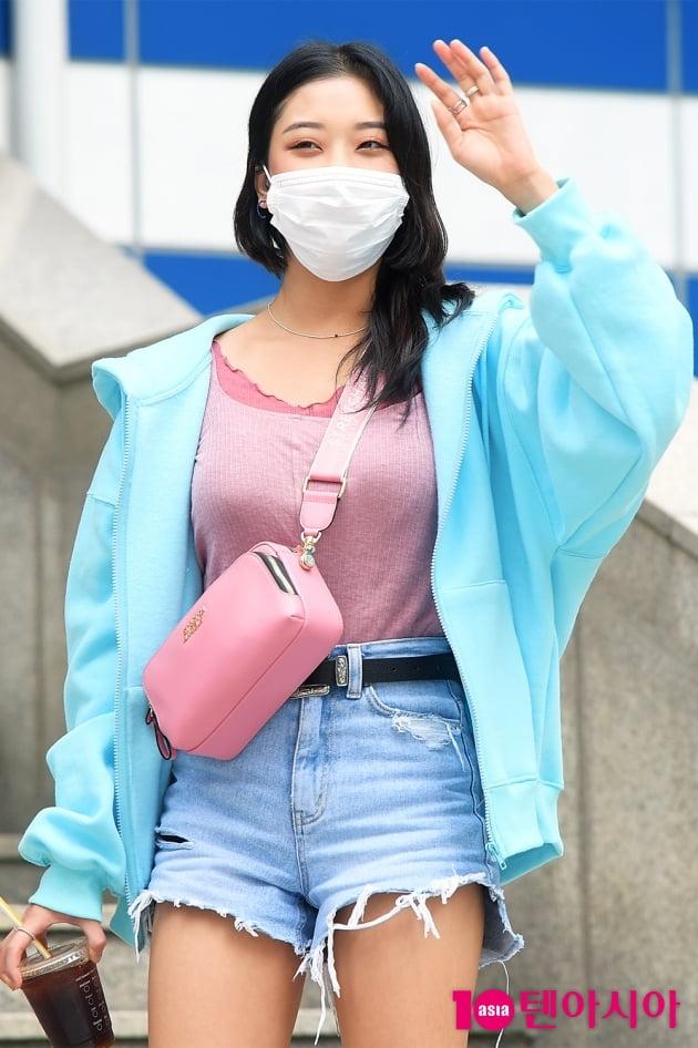 [TEN 포토] CLC 장승연 '오늘도 맑음'