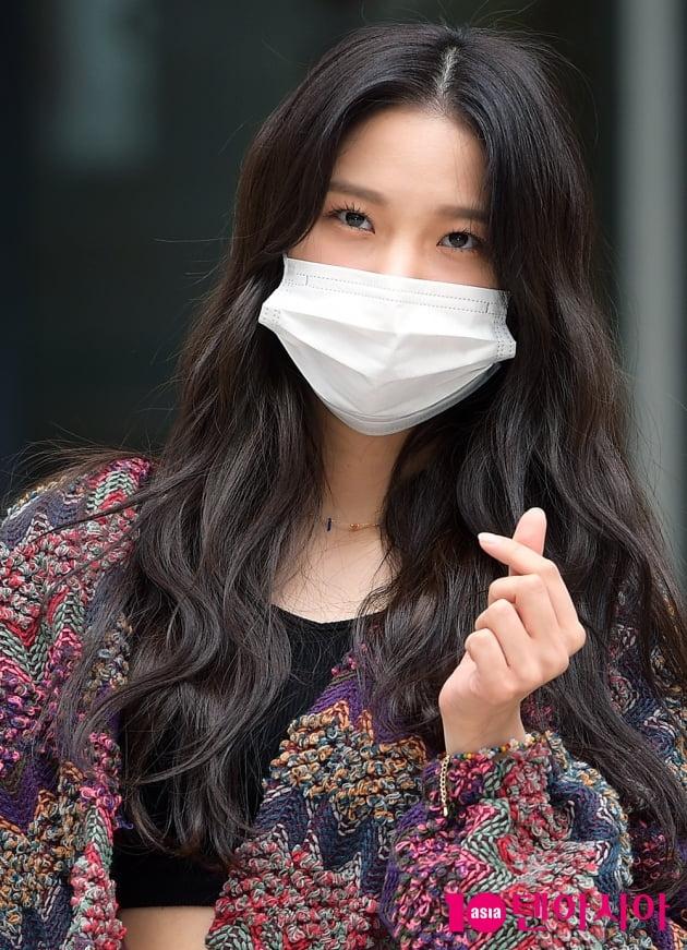[TEN 포토] CLC 최유진 '러블리 끝판왕'