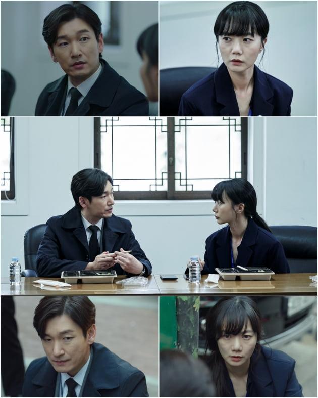 '비밀의 숲2' 조승우 배두나 / 사진제공=tvN