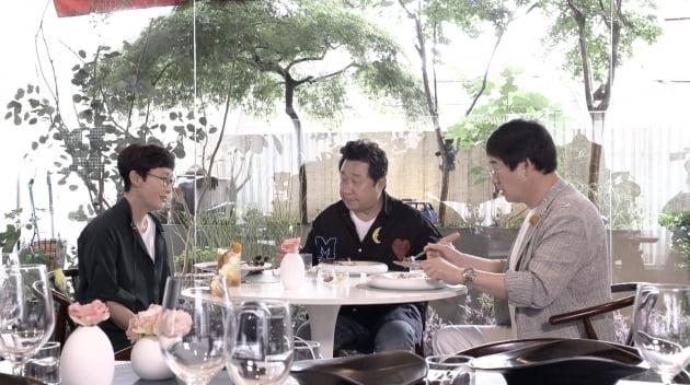 팽락부부 만난 임하룡 /사진=JTBC '1호가 될 순 없어'
