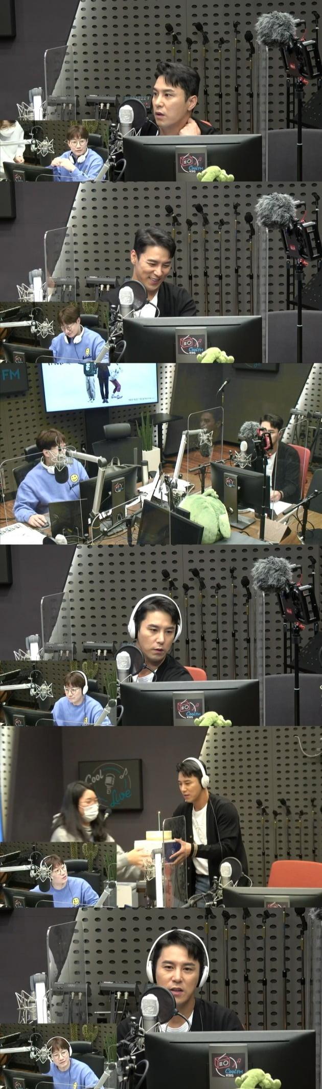 가수 장민호가 'FM대행진' 게스트로 출연했다. / 사진=KBS 보이는 라디오 캡처