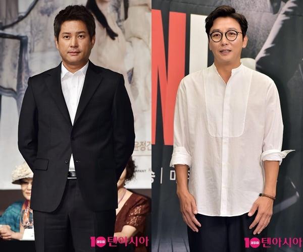 배우 이종원(왼쪽)과 탁재훈/ 사진=텐아시아DB