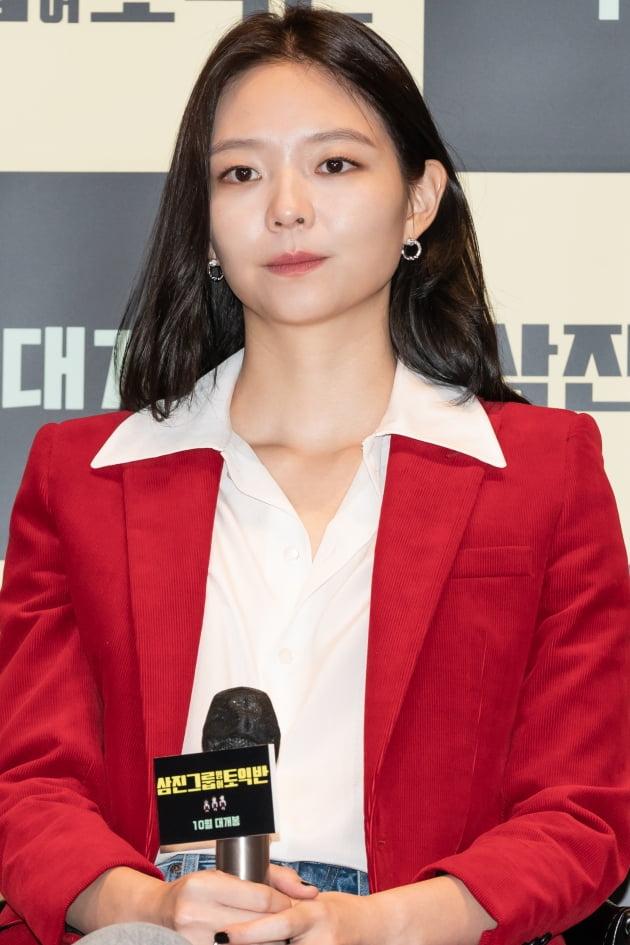 영화 '삼진그룹 영어토익반' 이솜./ 사진제공=롯데엔터테인먼트