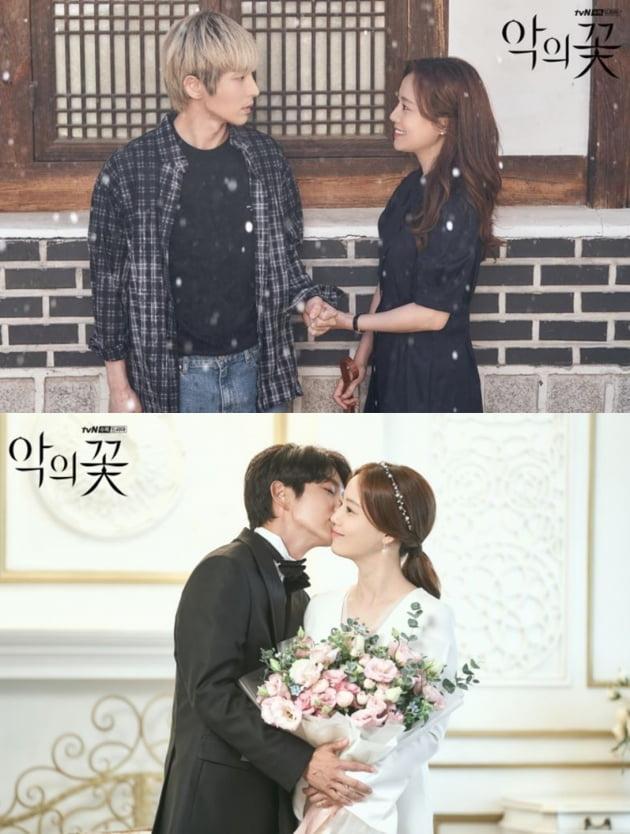 '악의 꽃' 현장포토. /사진제공=tvN
