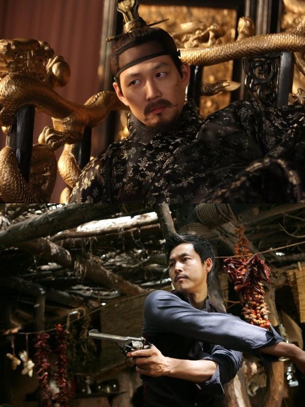 영화 '관상'의 이정재와 영화 '좋은 놈, 나쁜 놈, 이상한 놈'의 정우성 / 사진=각 배급사