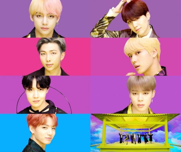사진=그룹 방탄소년단 'IDOL' 뮤직비디오 캡처