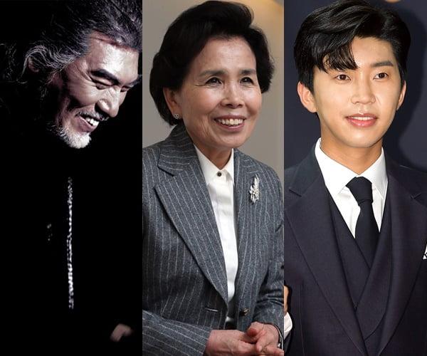 가수 나훈아(왼쪽부터), 이미자, 임영웅/ 사진=KBS, TV조선, 텐아시아DB