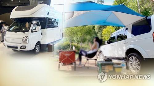 """'차박하기 좋은 차' 인기…""""나홀로 캠핑 UX·모션뷰 부상"""""""