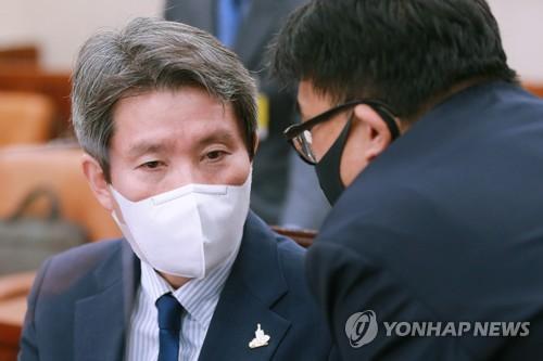 """이인영, 北 사과에 """"매우 이례적…파국 막으려는듯""""(종합)"""