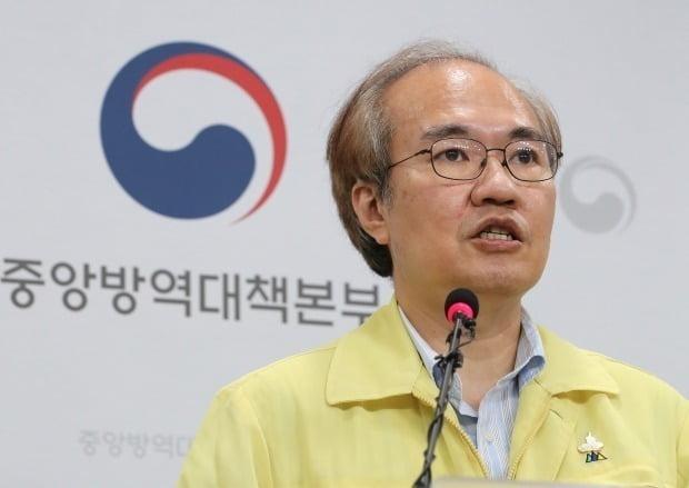 권준욱 중앙방역대책부본부장(국립보건연구원장). 연합뉴스