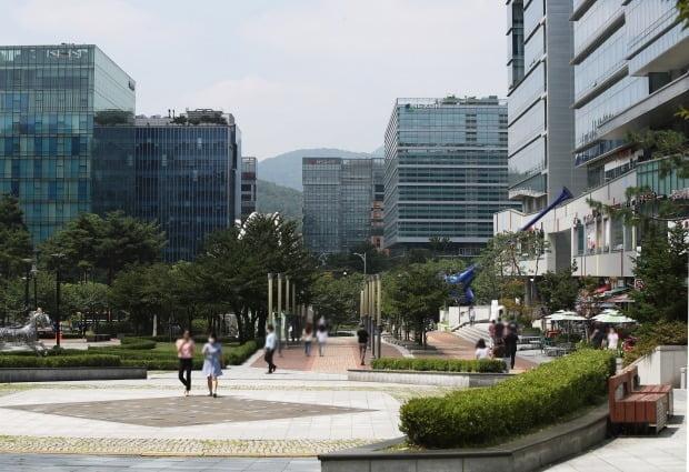 판교테크노밸리 일대 전경(사진=연합뉴스)