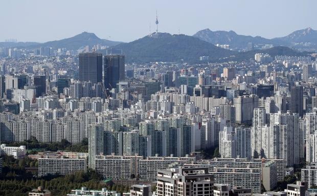 서울 강남구 개포동을 비롯한 강남권 아파트 일대. 사진=연합뉴스