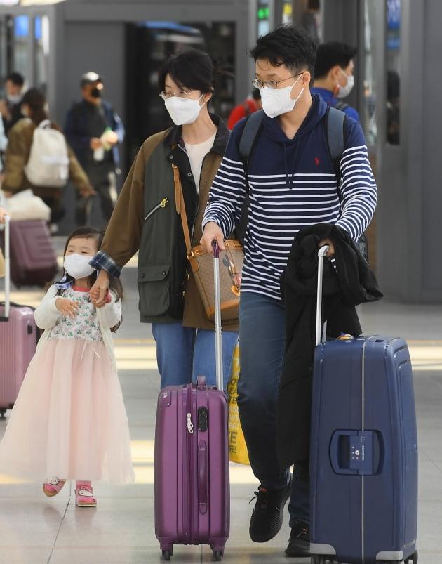 [포토] 추석 쇠고 서울로 돌아오는 시민들