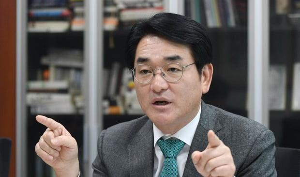 """[단독] 박용진 의원 """"삼성생명법, 국회에서 바뀔 수 있다"""""""