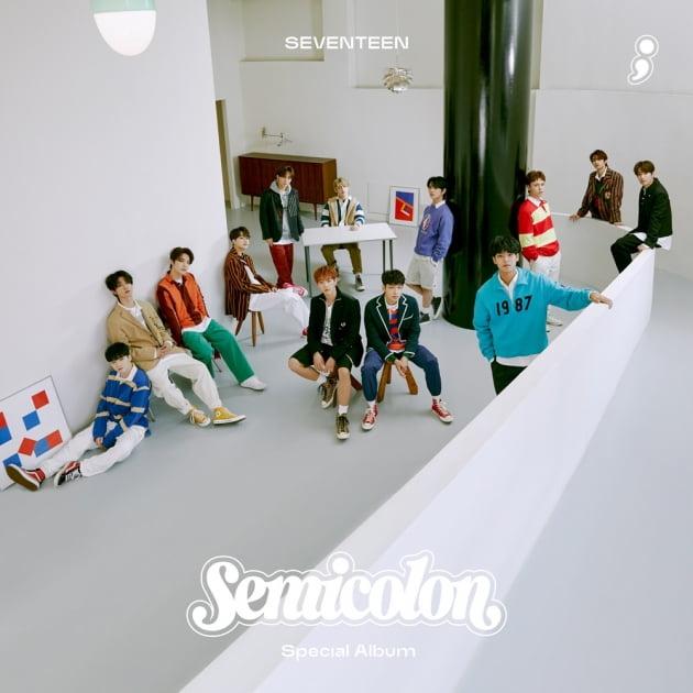 세븐틴 '세미콜론', 선주문량 110만장 돌파 /사진=플레디스엔터테인먼트 제공