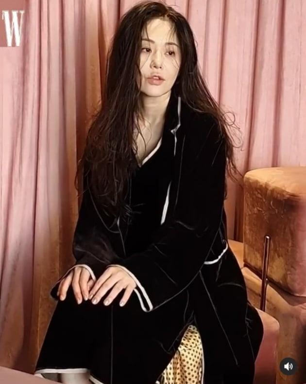 고현정/사진=더블유코리아 공식 인스타그램 캡처