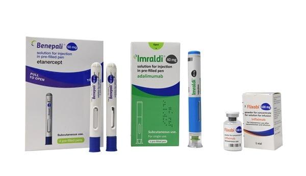 삼성바이오에피스 유럽 자가면역질환 치료제 3종. /사진 제공=삼성바이오에피스