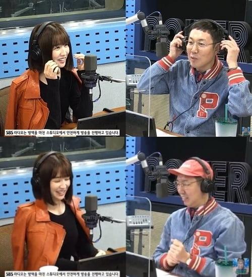 박하선, '골든벨' 출연 에피소드 전해 /사진=SBS 보는 라디오 캡처