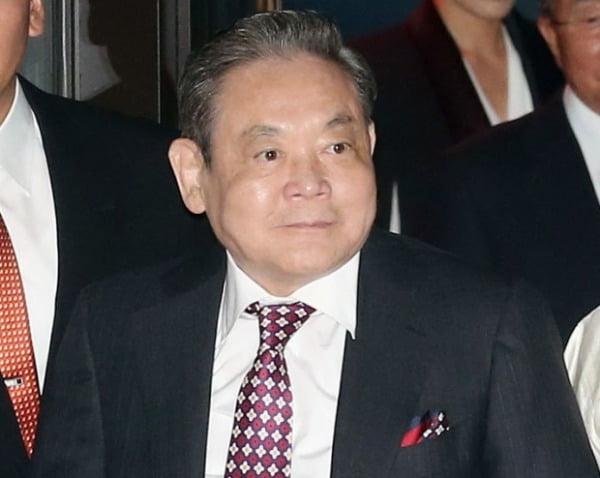 이건희 삼성그룹 회장이 25일 서울 일원동 서울삼성병원에서 별세했다. 향년 78세. / 사진=뉴스1
