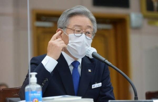 이재명 경기지사/사진=연합뉴스