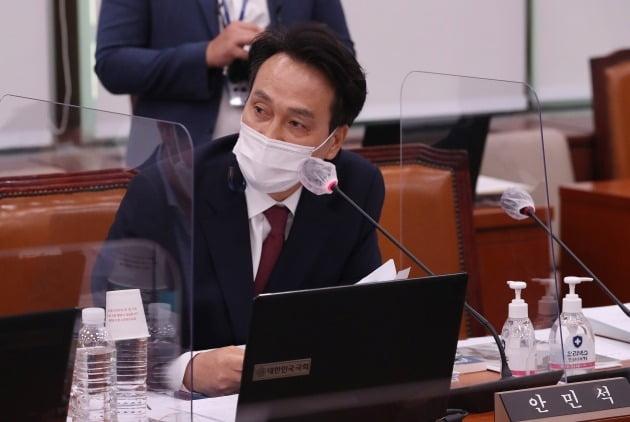안민석 더불어민주당 의원. 연합뉴스