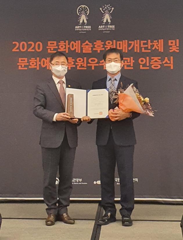 한국남부발전, 문화예술후원에도 모범