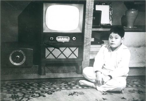 어린시절 삼성 이건희 회장 모습. 사진=삼성전자 제공