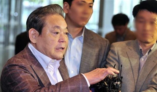[속보] 이건희 삼성그룹 회장 별세…향년 78세