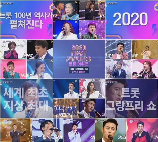 2020 트롯 어워즈 (사진=TV CHOSUN)